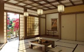 ein japanisches wohnzimmer strahlt ruhe und edle