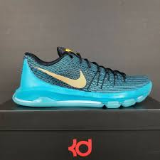 100 Kd Pool NIKE KD 8 VIII OKC BLUE LAGOON BASKETBALL SHOES 749375480 MENS SZ13