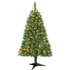 9ft Christmas Tree Walmart Canada by Holiday Time Pre Lit 4 U0027 Indiana Spruce Artificial Christmas Tree