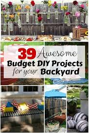 39 Awesome Budget DIY Projects For Your Backyard