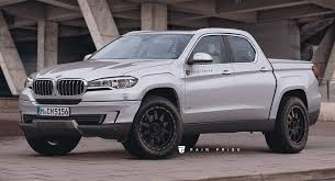 This BMW Pickup Truck Rival To The Mercedes Benz X Class Could Be