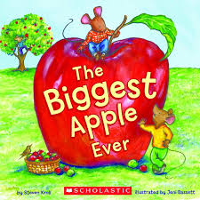 The Biggest Pumpkin Ever By Steven Kroll by The Biggest Apple Ever By Steven Kroll Scholastic