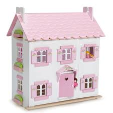 Doll House Modern 3 Level With Curved Roof Lift Furniture