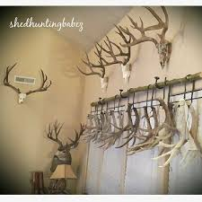 diy fabric covered antler mount antlers tutorials and craft