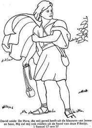 Mary And Martha Coloring Page See More David Trekt Ten Strijde