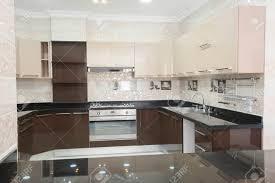 küche im amerikanischen stil fläche einem luxus apartment das innendesign