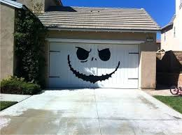 jack skellington nightmare before christmas style huge garage