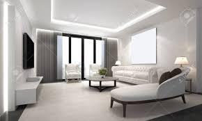 der luxus wohnzimmer innenarchitektur und weißen wand hintergrund wand und lcd tv