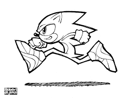 Sonic The Hedgehog Coloring Pages For Print Color Pictures