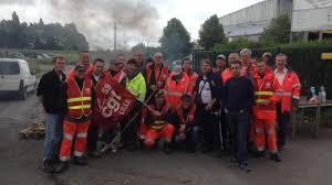 veolia propreté siège social strazeele grève des agents au centre de tri veolia des