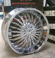 Strada Rims | A2I: Strada Spina Chrome Wheels 20