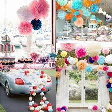 Cheap Wedding Decorations Online by Sale Ful Tissue Paper Flowers Balls For Wedding Party