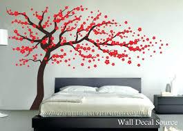 Cherry Blossom Bathroom Decor wall decor amazing red wall decor design red wall decor for