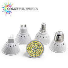 bright gu10 mr16 e14 e27 led spotlight 110v 220v 230v 240v