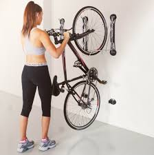 Ceiling Bike Rack Canadian Tire by Compact Vertical Bike Rack Wall Mount Storeyourboard Com