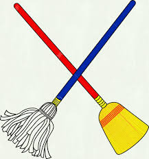 Coloring Pages Detail New Mop Clipart Collection Digital G House Broom