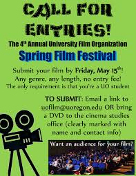 UFO Spring Film Festival Call For Entries