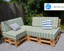 Custom Outdoor Sitting Pallet Cushion 120x80x20cm 47x31x8
