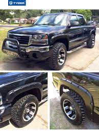 100 Truck Flares Pocket BoltRiveted Style Fender For 19992007 Chevy