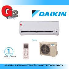 daikin 2 0hp ready stock fast shipping non inverter air cond r32 3 ftv50p rv50f 3wmy g1