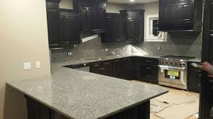 Kitchens With Dark Cabinets And Light Countertops by Granite Countertops Kitchens Granite Picturesgranite Plus