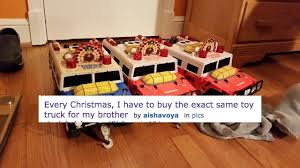 A Sister's Request For Toy Trucks For Her Brother Becomes The Feel ... 1958 Beautiful Custom Tonka Truck Display In Toys Hobbies Diecast Tonka Dump Exc W Box No 408 Nicest On Ebay 1840425365 70cm 4x4 Off Road Hauler With Dirt Bikes I Think Am Getting A Thing For Trucks And Boats Classic Lot 633 Vintage Gambles Parts 2350 Pclick Joe Lopez Twitter Tonka Vintage Fire 55250 Pressed Steel Truck Deals Tagtay Promo Oneofakind Replica Uhaul My Storymy Story Steel Mighty Pressed Metal Yellow Diesel Large Toy
