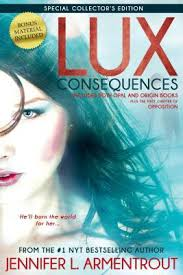 Lux Consequences Opal And Origin By Jennifer L Armentrout Paperback