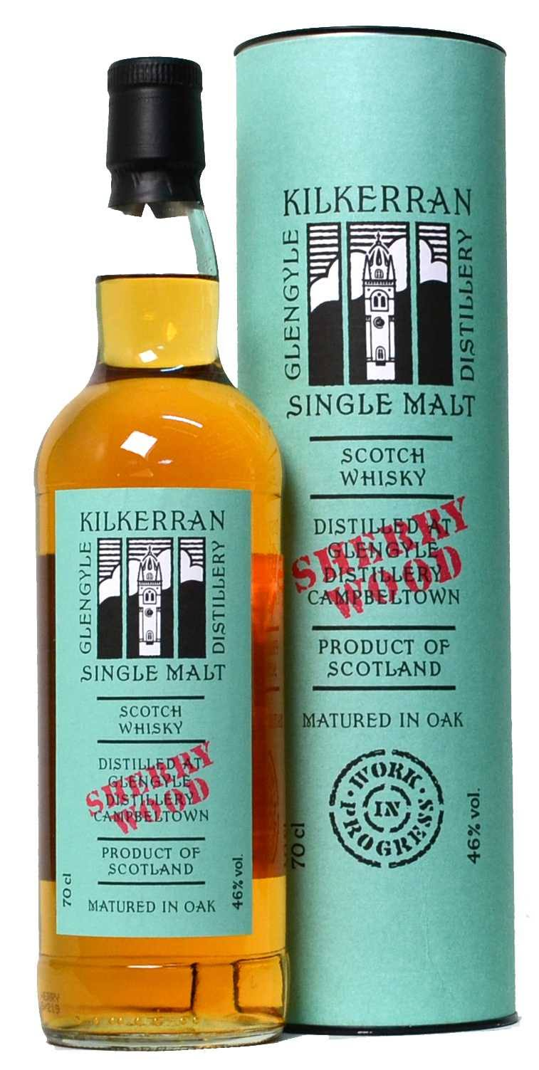 Kilkerran Sherry Wood Finished Single Malt Whisky - 700ml