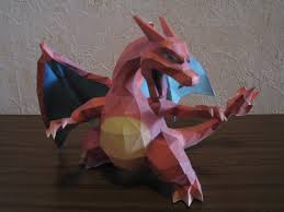 Pokemon Charizard Papercraft By Saja San