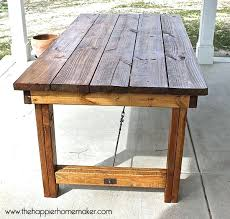 patio patio table top ideas best 25 outdoor tables ideas on