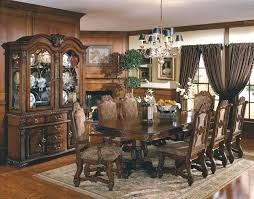 Dining Sets With China Cabinets Formal Room Cabinet Luxury Best Tables