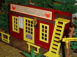 le bureau de poste post telegraph office playmobil tuning