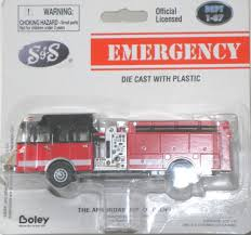 100 Boley Fire Trucks 187 Diecast 22013 13 S S Crew Cab Top Mount Pumper
