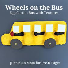 School Bus Art Craft For Pre K