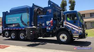 REPUBLIC SERVICES - *NEW* Garbage Trucks Of Chula Vista [2369 & 2281 ...