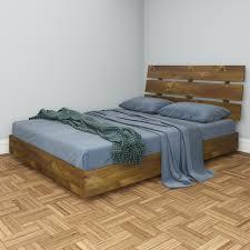 Laguna King Platform Bed With Headboard by Nexera Nocce Platform Bed And Headboard By Oj Commerce 400608b