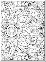 Brilliant Adult Coloring Book Pages Flowers Adults And Birds Trees For Abstract
