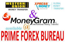 forex bureau forex services at prime forex bureau ltd
