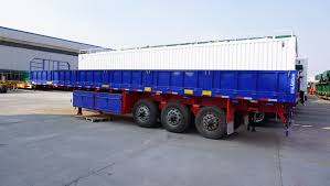 100 Truck Trailer Manufacturers Tri Axle 40ft 40 Tons Capacity Trailer Manufacturers Cargo Semi