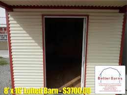 Better Barns & U-Haul Rentals | Custom Auto & Equipment ... Better Barns 10x16 Side Loft Barn Tour Youtube Usedprebuilt The Shed Ramp System Betterbarns Twitter Shops And Garages Mp Cstructionmp Cstruction Country Portable Buildings Storage Sheds Tiny Houses Easy Home Design Built Metal Lowes Living In A Past Programs