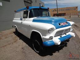 100 1952 Chevy Panel Truck 1957 GMC NAPCO Civil Defense SUPER RARE