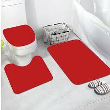 12 teilig badgarnitur badezimmer matte dusch bade einfarbig