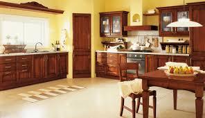 cuisine bois design cuisine bois design marron ideeco