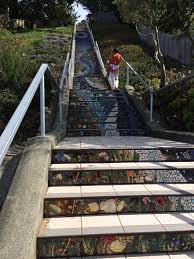 16th Avenue Tiled Steps Project by 16th Avenue Tiled Steps San Francisco U2022 Mccool Travel