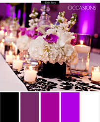 Sophisticated Black White And Purple Quinceanera