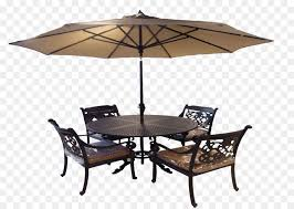 Table Chair Umbrella Garden Furniture