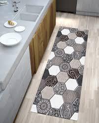 läufer teppich möbel kochen badezimmer digitaldruck fliesen