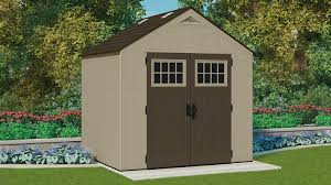 378 cu ft 8 x 7 storage shed suncast corporation
