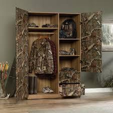 flat creek wardrobe storage cabinet 416135 sauder