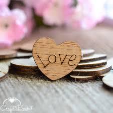 Love Wood Hearts 1